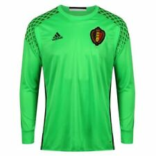 Maillots de football verts longueur manches manches longues taille M