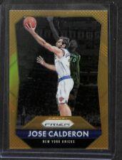 2015-16 Panini Prizm Gold Prizm #76 Jose Calderon No 5 of 10