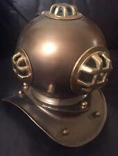 Metal ornamentales casco para buzos