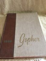 1960 Gopher University of Minnesota MN College Yearbook