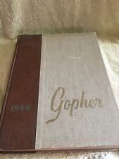 1960 Gopher University of Minnesota MN College Yearbook