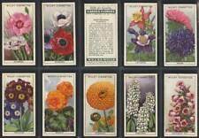 More details for full set, wills, garden flowers 1933
