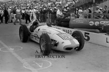 Watson Roadster Indianapolis 500 Mile race 1959 A.J. Watson auto racing photo
