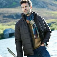 Samuel Windsor Men's Padded Quilted Jacket Zip Up Winter Coat Sizes S-XXXL NEW