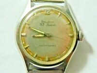 1963 Men's Vintage Bulova 23 Jewel Wristwatch for Parts or Repair