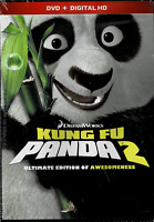 Kung Fu Panda 2, (DVD + Digital HD), NEW and Sealed, FREE Shipping!