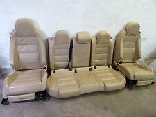 VW GOLF 5 V GTI BEIGE LEDER Sitze Ausstattung Sitzausstattung EASY 3trg. TDI R32