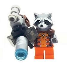 Rocket Raccoon Minifigure Marvel Super Heroes Figure For Custom Lego Minifig