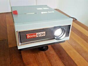 Rare Vintage Retro Boots IQ 50 Slide Projector