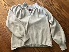 Girl's TEA COLLECTION Light Gray Sweater - Size 8-10