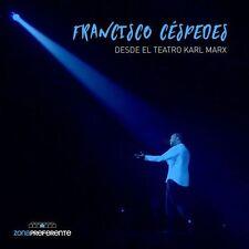 CD / DVD - Francisco Cespedes En Vivo Desde El Teatro Karl Marx NOW SHIPPING !
