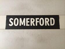 "Bournemouth 1980's Bus Destination Blind 24"" (sec)- Somerford"