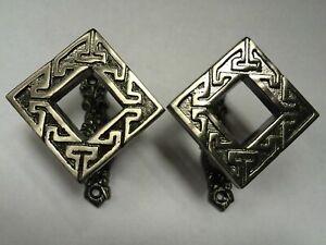 Celtic Square Sword Wall Mount Holder / Brackets / Holder / Stand / Hanger