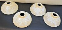 Slip Shade Art Deco Pearl  Bowl - Dish Shades Set of 4
