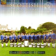 Clan Sutherland Pipe - Scottish Pipes & Drums [New CD] With Book