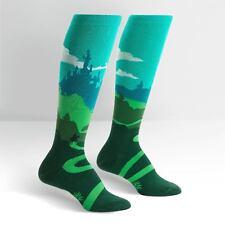 Sock It To Me Women's Funky Knee High Socks - Yonder Castle