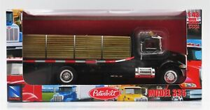 New-Ray Toys Diecast Peterbilt 335 Flatbed Delivery Truck 1:43