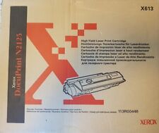 Toner Xerox x613 Docuprint N2125 original genuine 113R00446 nuevo new 113R00445