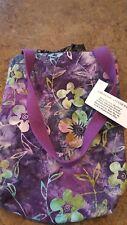 Floral pattern car litter trash bag, new