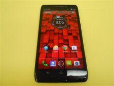 BLACK NEAR MINT MOTOROLA DROID MAXX XT1080M VERIZON + GSM FACTORY UNLOCKED
