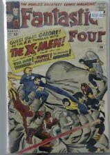 Fantastic Four Marvel Comic Book # 28 Feat X-Men