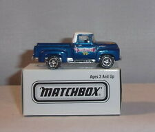 MJ7  Matchbox - Toy Show - 1956 Ford Pick-Up - Blue -  Hershey, PA 1998