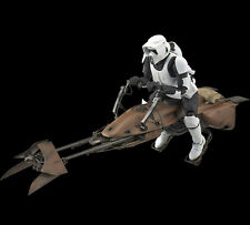 STAR WARS Character Creature 05 1/12 Scout Trooper Speeder Bike BANDAI MODEL KIT