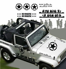 Car Sticker, Body Decals for Jeep Wrangler and other SUVs, Army Sticker