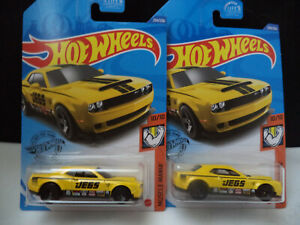 2020 HOT WHEELS MUSCLE MANIA '18 DODGE CHALLENGER JEGS YOU GET 2