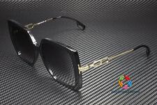 BURBERRY Luna BE4332 30018G Black Grey Gradient 57 mm Women's Sunglasses