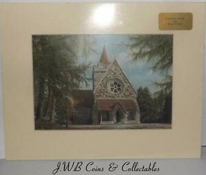 Print of Crathie Kirk, Aberdeenshire by Sue Firth
