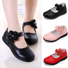 Fall children's shoes girls single shoes students princess flat leather shoes