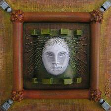 """Original art - """"Soul Window"""" - mixed-media 3-D"""