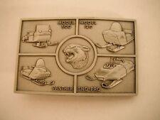 Vintage Nos Arctic Cat Model 500, Model 120, Panther & Sno-Pro Belt Buckle