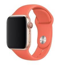 Genuine Apple Watch Sport Band Strap (42mm / 44mm) - Clementine (Orange) - New