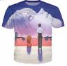 End of Evangelion 3D print Casual T Shirt Fashion Men Women Short Sleeve Top