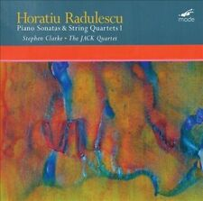 RADULESCU:PIANO SONATAS & STRING QUAR NEW VINYL RECORD