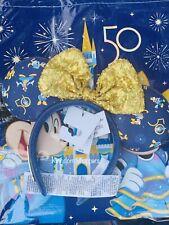 2021 Disney Parks Loungefly Walt Disney World 50th Celebration Collection Ears