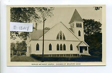 Haverhill MA Mass RPPC real photo King of Grace Church, 28 Chadwick Street early