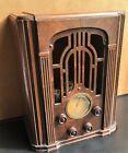 Non-working 1935 Atwater Kent 237Q Tombstone Style Tube Radio