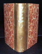 1806 & 1808 Engravings & Poetry for Children on Birds,  Tales of the Robin etc