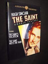 The Saint Double Feature Saints Vacation & Saint Meets the Tiger CLEAN DVD