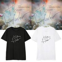 2019 Kpop VIXX LEO The Flower Same Style T-shirt Fashion Unisex Casual Shirt