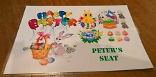 Personalised Easter laminated place mat Easter dinner