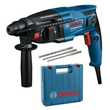 Bosch SDS-Plus Bohrhammer GBH 2-21 Professional inkl. 3 tlg. Bohrersatz + Koffer