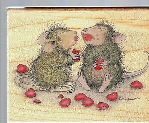 Stampabilities House Mouse Read My Lips HMJR1109