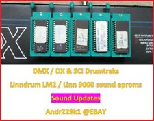 LinnDrum lm2/Linn 9000 Sound EPROM for DMX/DX & Sci drumtraks