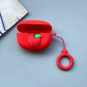For Beats Studio Buds Wireless Earphones Silicone Protective Case Cover w/ Hook