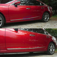 Car Chrome Body Side Moulding Trim Overlay cover Fit 2014 2015 Mazda 6 ATENZA M6