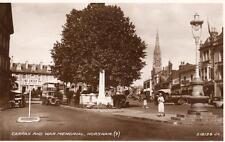 Carfax War Memorial Horsham unused RP pc Valentines